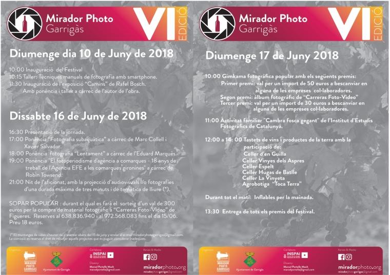 Díptic Mirador 2018 cara 2